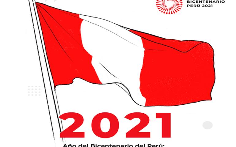 """Bicentenario de la Independencia del Perú: 200 años de Independencia"""" (Imagen: Bicentenario de Perú)."""