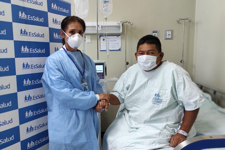 Agricultor recibió trasplante de riñón en Arequipa (Foto: EsSalud).