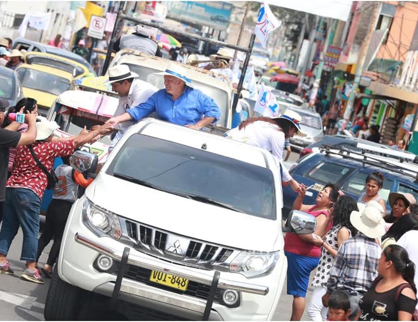 Manifestaciones de campaña que en adelante quedaron prohibidas (Foto:Facebook APP).