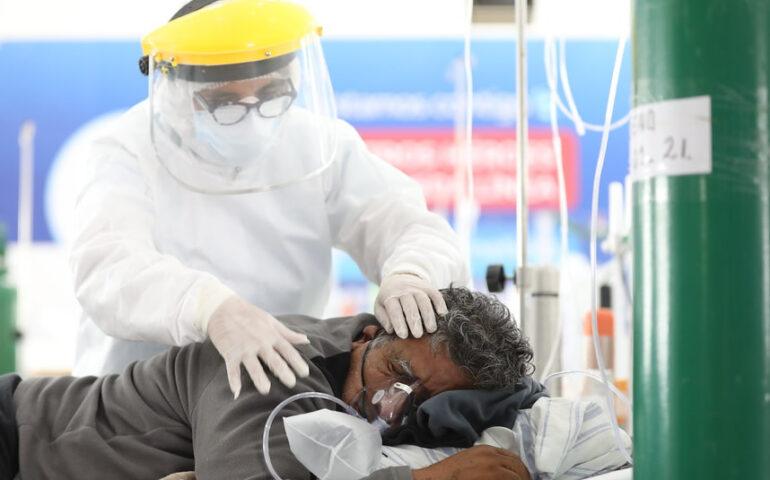 Paciente de espaldas (Foto: EsSalud).
