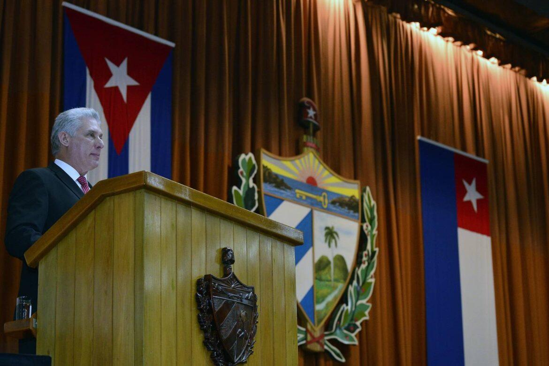 Presidente de Cuba, Miguel Díaz-Canel (Foto: presidencia.gob.cu).