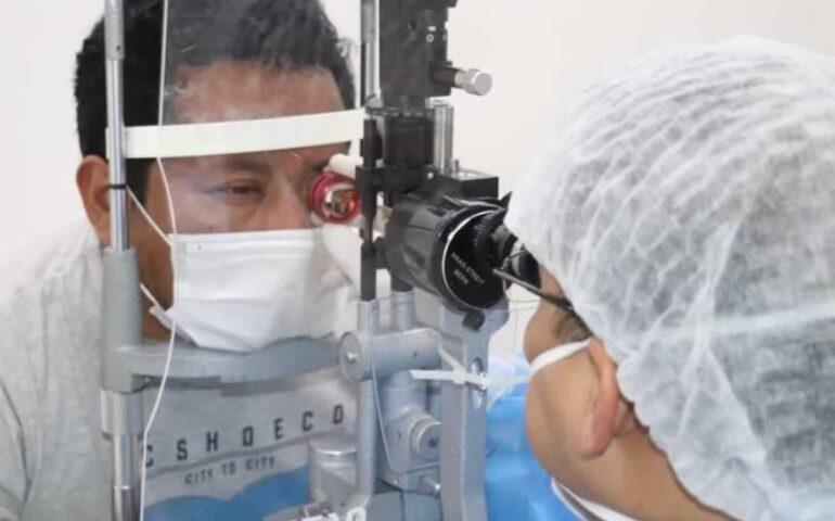DJ Andrés Ever Garay Chombile asaltado en Villa El Salvador recibe atención médica (Foto: MINSA).