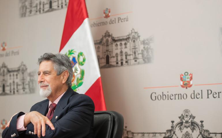 Francisco Sagasti (Foto: Presidencia de la República).