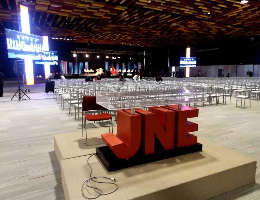En lugares como el de la foto se volverán a realizar los debates entre los candidatos presidenciales (Foto: Archivo JNE).