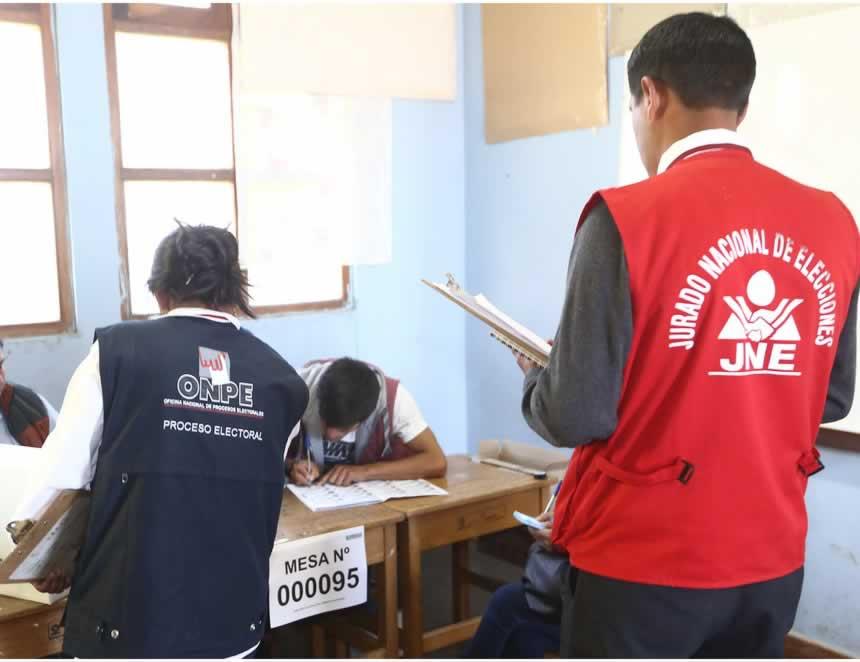 Once listas quedaron aptas para las Elecciones 2021 (Foto: JNE).