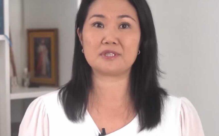 Keiko Fujimori (captura video).