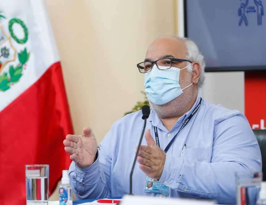 Viceministro de Salud, Luis Suárez Ognio (Foto: Minsa).