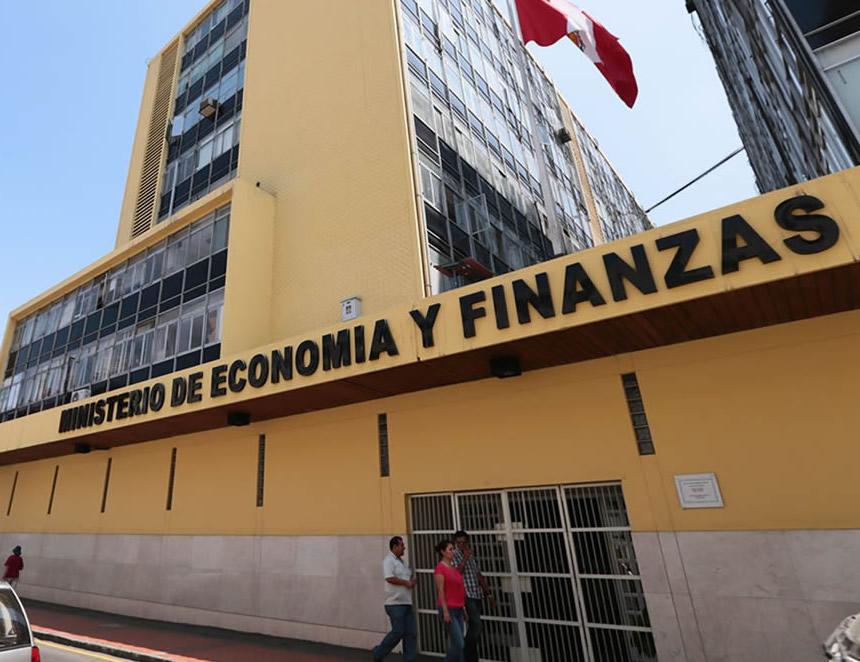 Sede Ministerio de Economía (Foto: MEF).