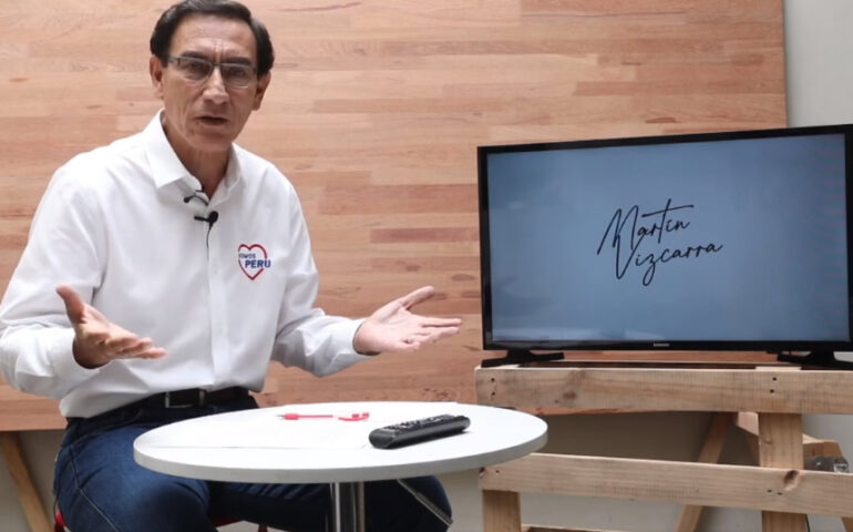 Martín Vizcarra interviene en sus redes sociales (Captura video).