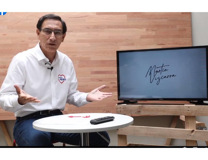 Martín Vizcarra interviene en sus redes sociales (Captura video).