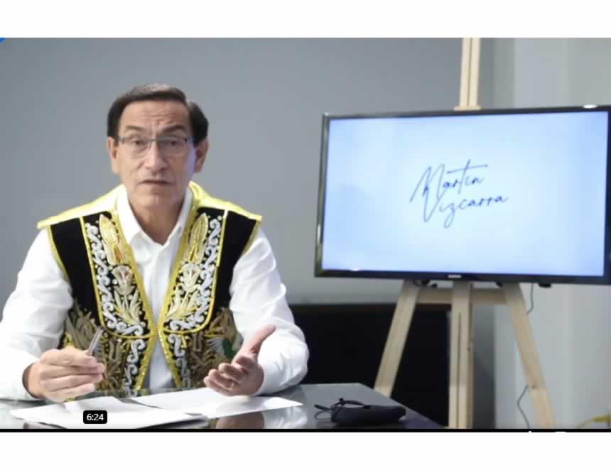 Martín propone aplazamiento de las eleccionwes generales (Captura video)