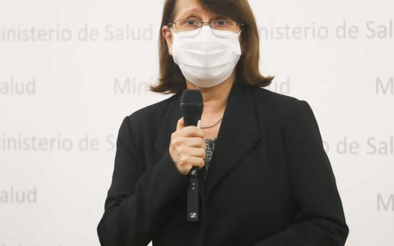 Ministra de Salud, Pilar Mazzetti (Foto: Minsa).