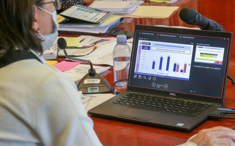 Hasta hoy en Perú se han procesado muestras para 5 555 591 personas por la COVID-19 (Foto: Minsa).