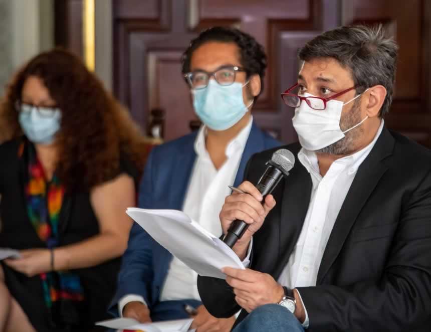 Ministro Ricardo Cuenca (Foto: Presidencia de la República).
