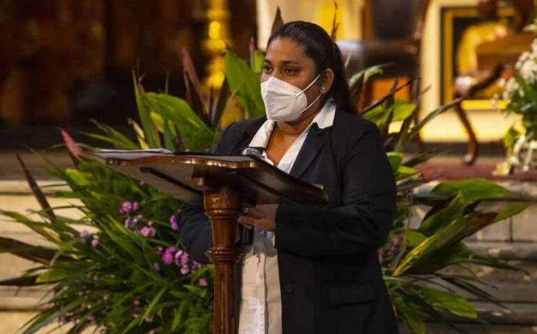 Mujeres en la lectura de la palabra (Foto: Arzobispado de Lima).