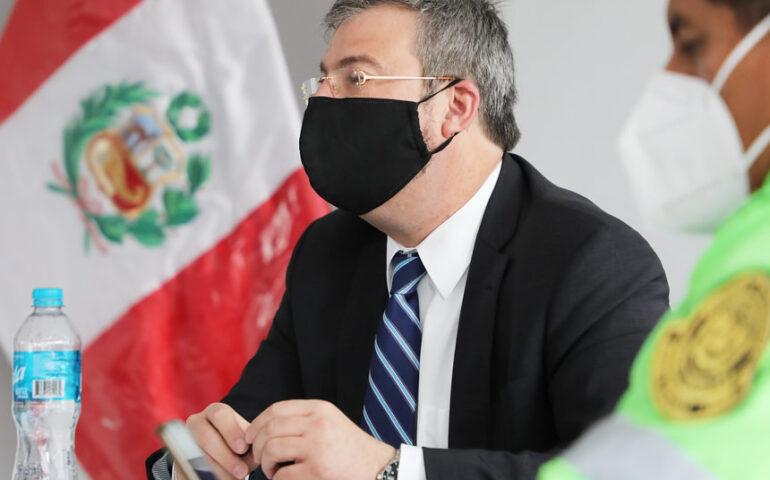 Piero Corvetto Salinas, jefe de ONPE (Foto: ONPE).