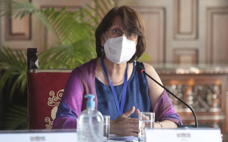 Titular del Minsa, Pilar Mazzetti (Foto: Minsa).
