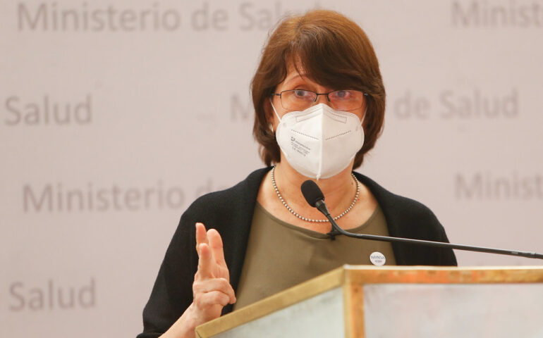Ministra Pilar Mazzetti (Foto. Minsa).