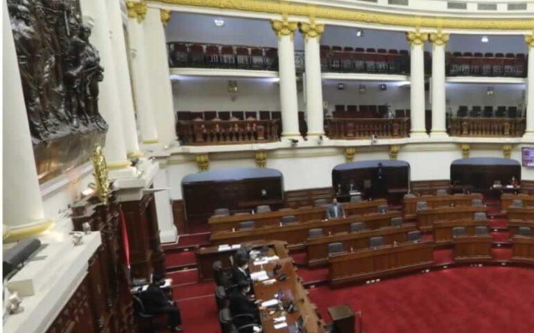 Sesión del Pleno (Foto: Congreso de la República).