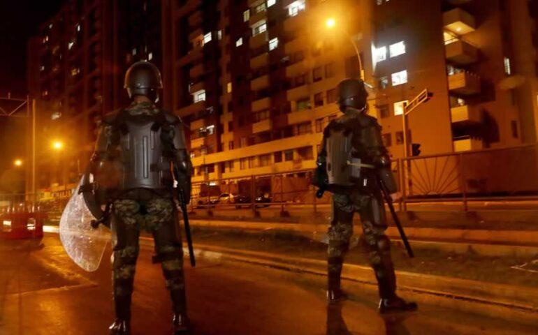 Supervisión del toque de queda en Lima y Callao (Foto: Mindef).