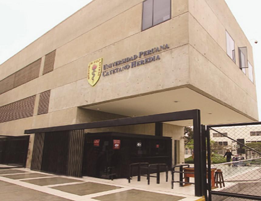 Sede SMP de la Universidad Peruana Cayetano Heredia (Foto: UPCH).