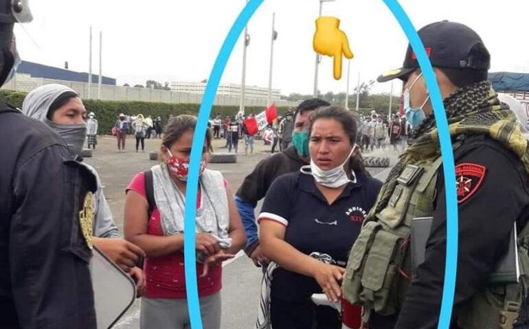 Apareció Anadela Mori Román, reportada como desaparecida (Foto: el corresponsal de Virú).