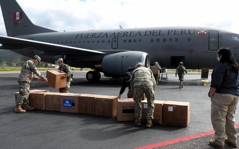 Aeronave multipropósito de la FAP (Foto: Ministerio de Defensa).