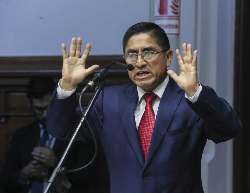 César Hinostroza (Foto archivo Congreso de la República).