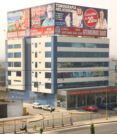 ClÍnica Limatambo, sede SJL