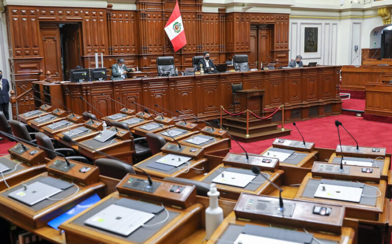 Pleno del Congreso (Foto: Congreso de la República).