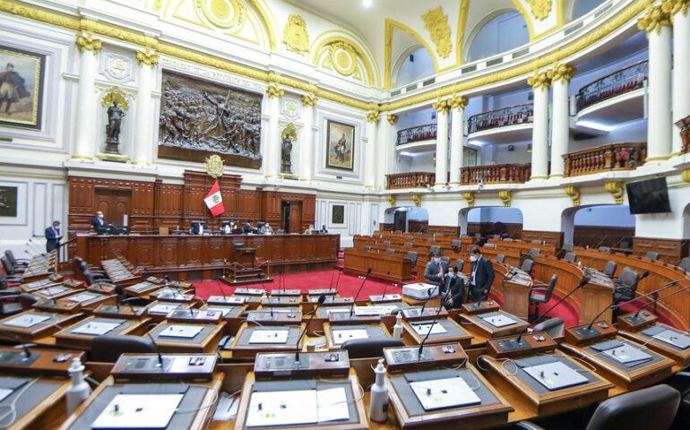Congreso aprueba informe para calificar 7 denuncias constitucionales contra Martín Vizcarra (Foto: Congreso de la República).