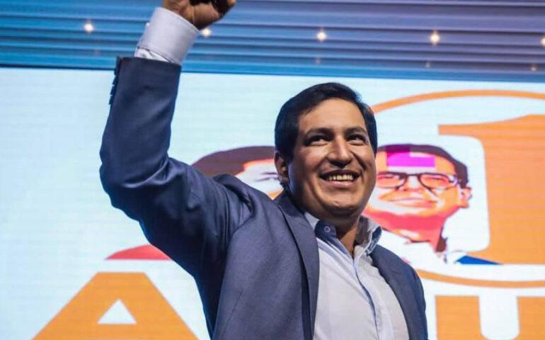 Andrés Arauz, candidato a la Presidencia de Ecuador por la Lista 1 (Foto: Andrés Arauz, cuenta de Facebook).
