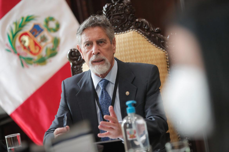 Presidente Francisco Sagasti (Foto: Presidencia de la República).