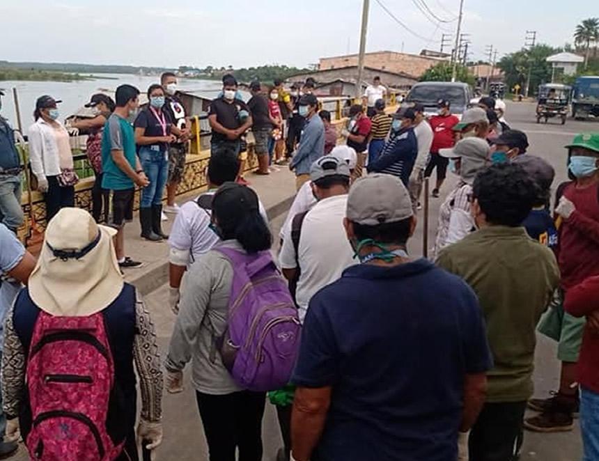 Iquitos, en la provincia de Maynas, forma desde hoy parte de las localidades con nivel de alerta extremo (Foto: Municipalidad de Maynas, cuenta de Facebook).