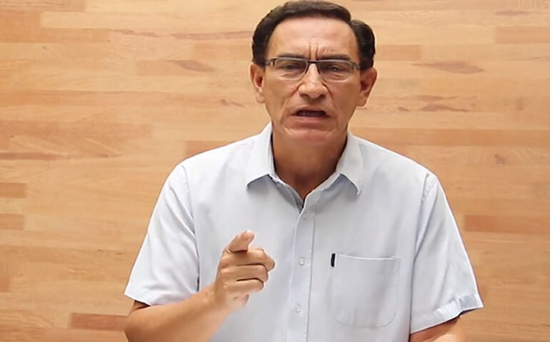 Martín Vizcarra (Captura Video).