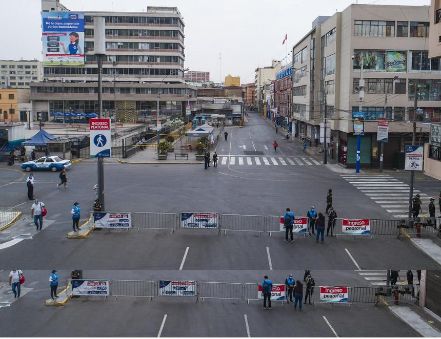 Vuelven los conglomerados pero con capacidad restringida y presencia policial y municipal (Foto: Municipalidad de Lima).