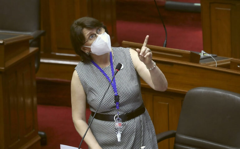 Ministra Pilar Mazzetti Soler (Foto: PCM).