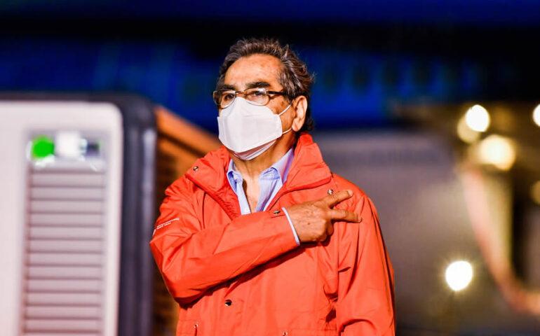 Ministro de Salud, Oscar Ugarte (Foto: PCM).