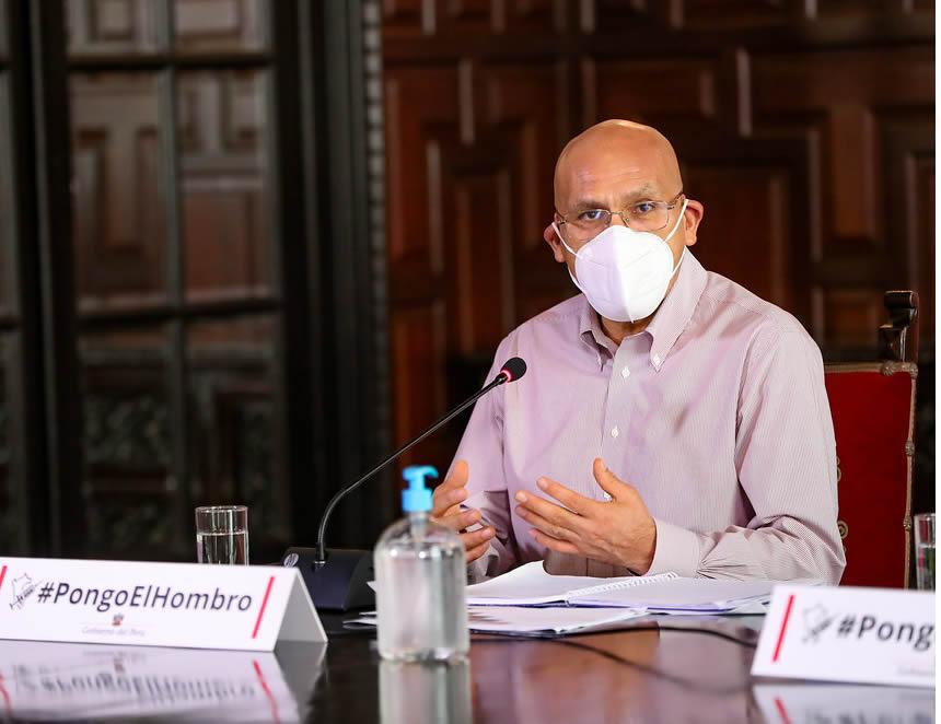 Ministro de Economía y Finanzas, Waldo Mendoza (Foto: PCM)