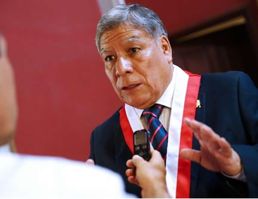 Orestes Cachay, rector de la UNMSM (Foto: agencia andina).