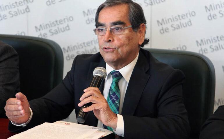 Oscar Ugarte Ubillus (Foto archivo Minsa).
