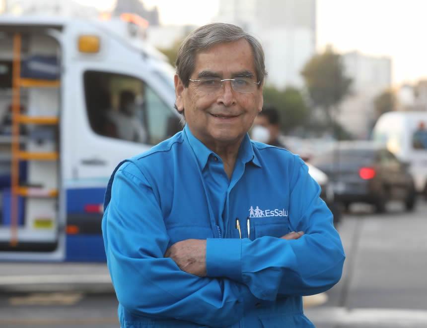Oscar Ugarte, ministro de Salud (Foto: archivo EsSalud).