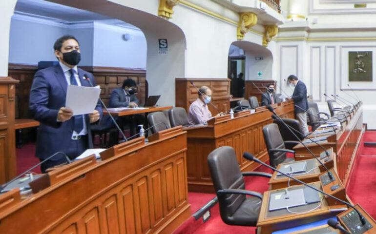 Pleno del Congreso (Foto: Congreso de la República)