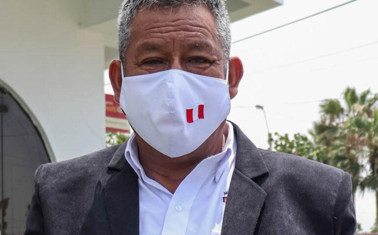 Claudio Marcatoma Ccahuana, alcalde de Punta Negra fallecido (Foto: Municipalidd de Punta Negra).