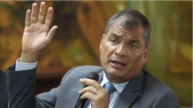Rafael Correa (Foto: Rafael Correa, cuenta de Facebook).