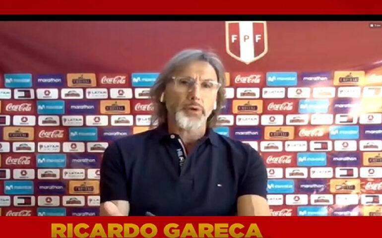 Ricardo Gareca desde Buenos Aires (Captura video).