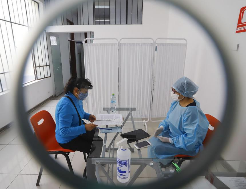 Ambientes internos de la Clínica Universitaria de la UNMSM (Foto: Presidencia de la República).