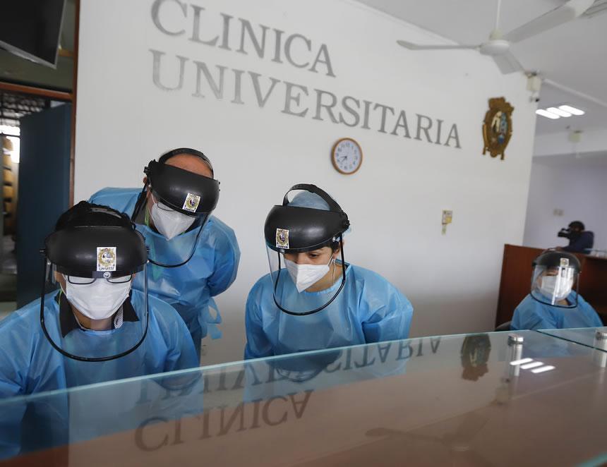 Clínica Universitaria de la UNMSM (Foto: Presidencia de la República).