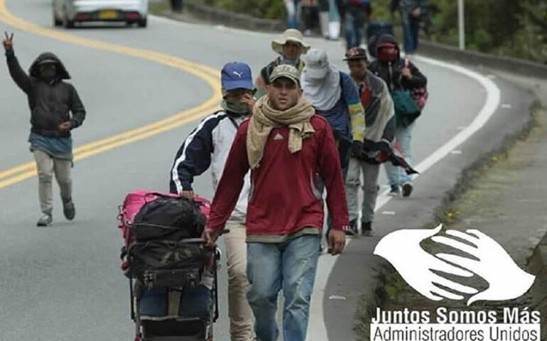 De acuerdo con cifras de la Organización de las Naciones Unidas, más de 5 millones de venezolanos han salido de su país en los últimos años (Foto: Asociacion Central de venezolanos en Colombia).