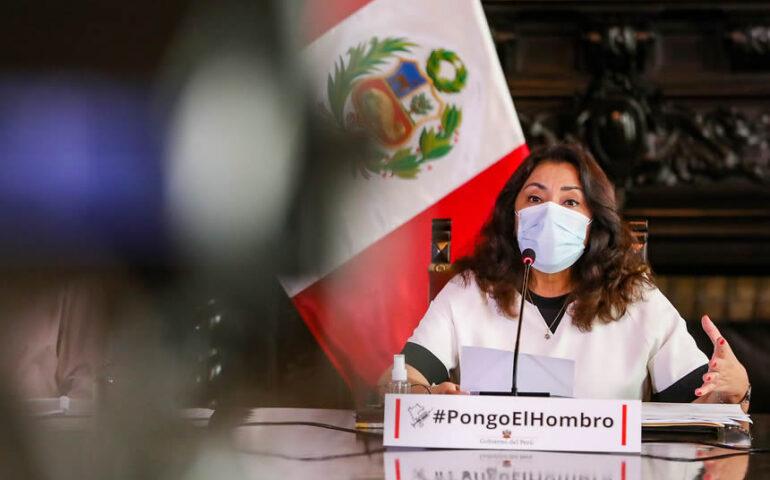 Violeta Bermúdez, presidente del Consejo de Ministros (Foto: Presidencia de la República).